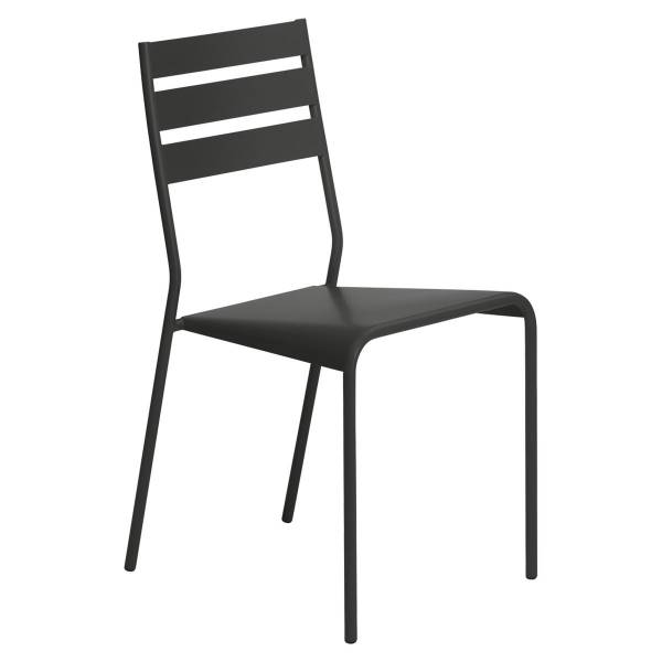 Fermob Facto Chair in Liquorice