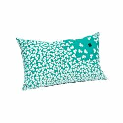 Trefle Cushion - 68 x 44cm in colour Turquoise from Trèfle Collection