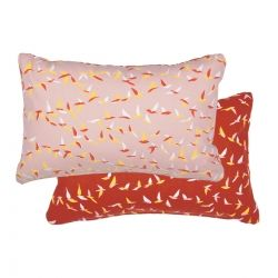 Ava Cushion 44 x 30cm in colour Powder Pink from Ava Collection