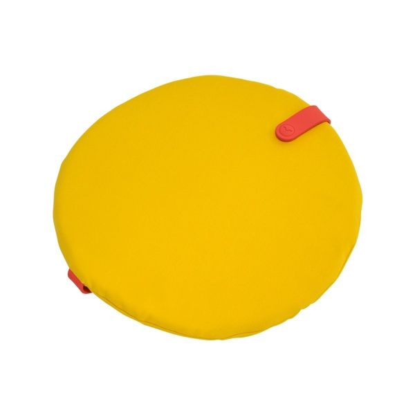 Fermob Colour Mix Round Cushion 40cm in Toucan Yellow
