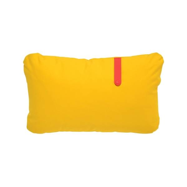 Fermob Colour Mix Cushion 68 x 44cm in Toucan Yellow