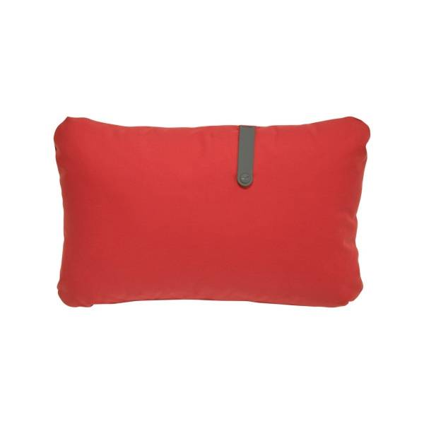 Fermob Colour Mix Cushion 68 x 44cm in Candy Red
