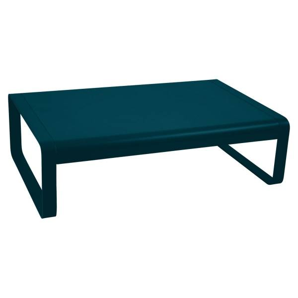Fermob Bellevie Low Table in Acapulco Blue