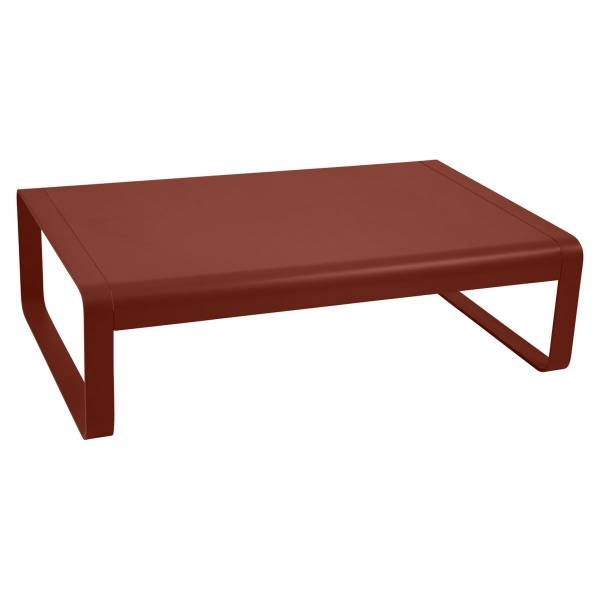 Fermob Bellevie Low Table in Red Ochre