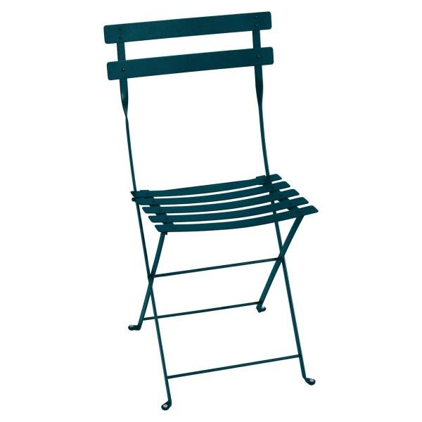 Fermob Bistro Folding Chair in Acapulco Blue