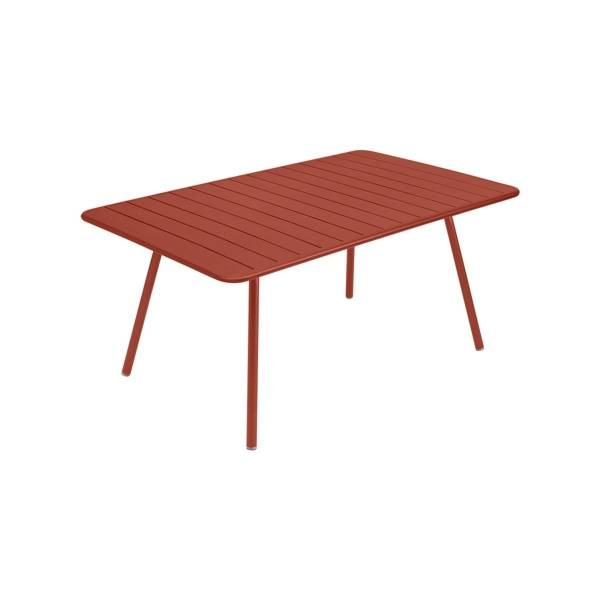 Fermob Luxembourg Table 165 x 100cm in Red Ochre