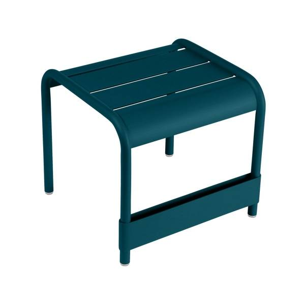 Fermob Luxembourg Small Low Table in Acapulco Blue