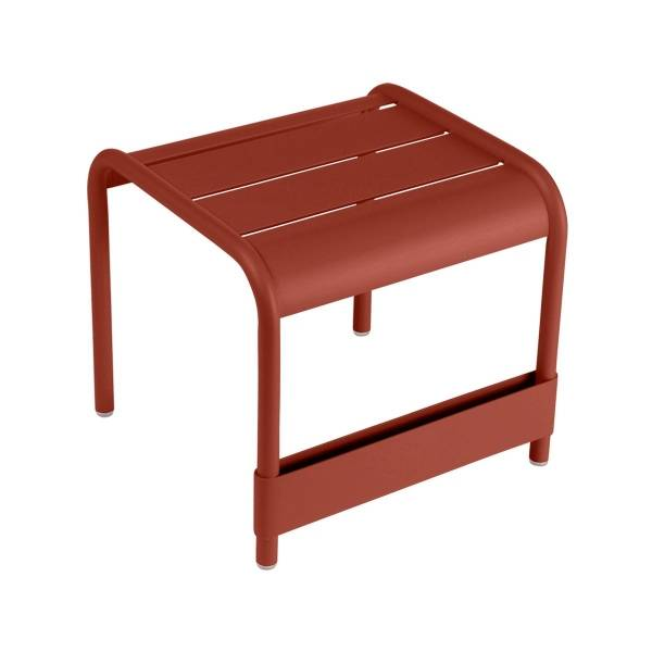 Fermob Luxembourg Small Low Table in Red Ochre