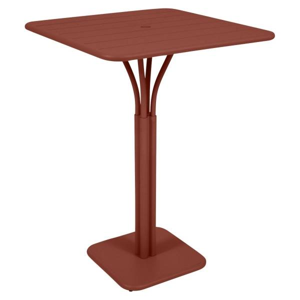 Fermob Luxembourg High Table in Red Ochre
