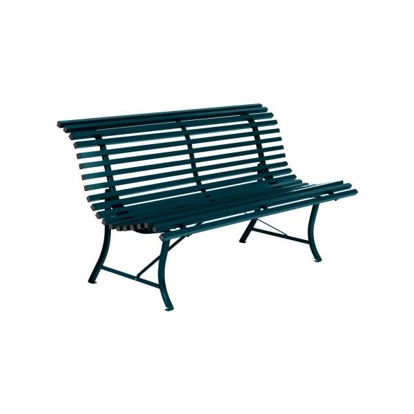 Fermob Louisiane Bench 150cm in Acapulco Blue