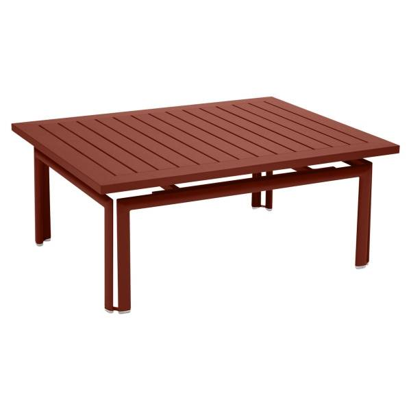 Fermob Costa Low Table in Red Ochre