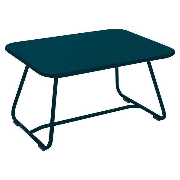 Fermob Sixties Low Table in Acapulco Blue