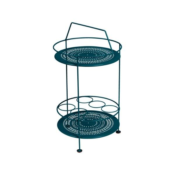 Fermob Montmartre Portable Bar in Acapulco Blue