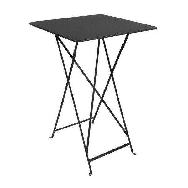 Fermob Bistro High Table 71 x 71cm in Liquorice