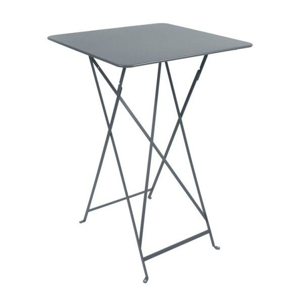 Fermob Bistro High Table 71 x 71cm in Storm Grey