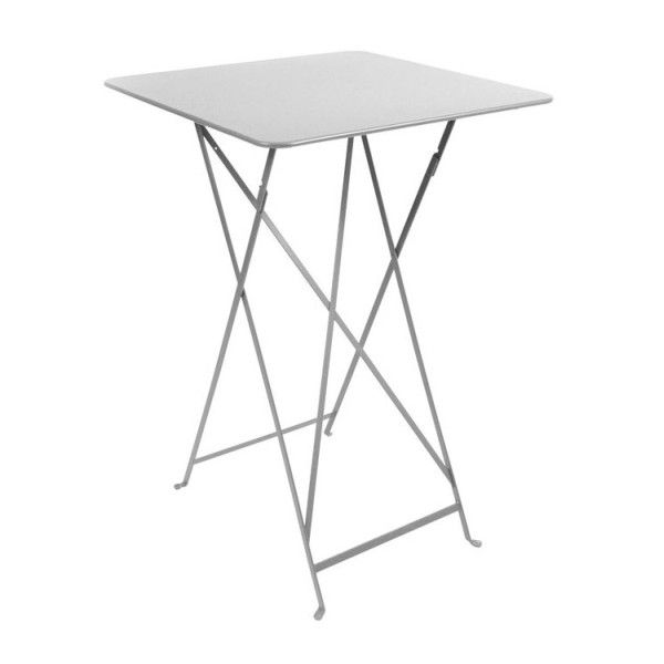 Fermob Bistro High Table 71 x 71cm in Steel Grey