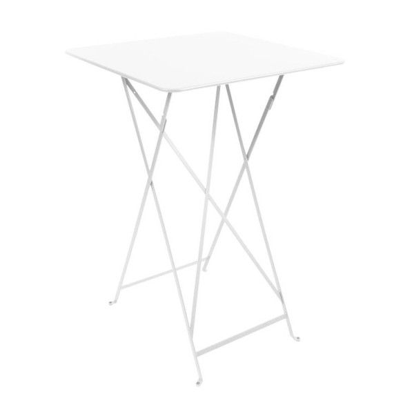 Fermob Bistro High Table 71 x 71cm in Cotton White