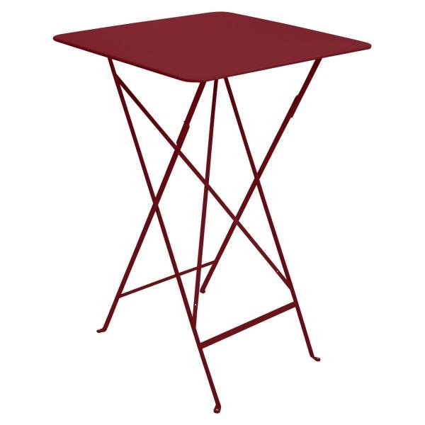 Fermob Bistro High Table 71 x 71cm in Chilli