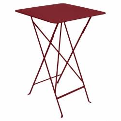 Bistro High Outdoor Table 71 x 71cm in colour Chilli from Bistro Outdoor Furniture