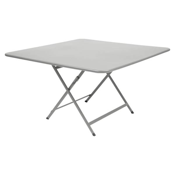 Fermob Caractère Table 128 x 128cm in Steel Grey