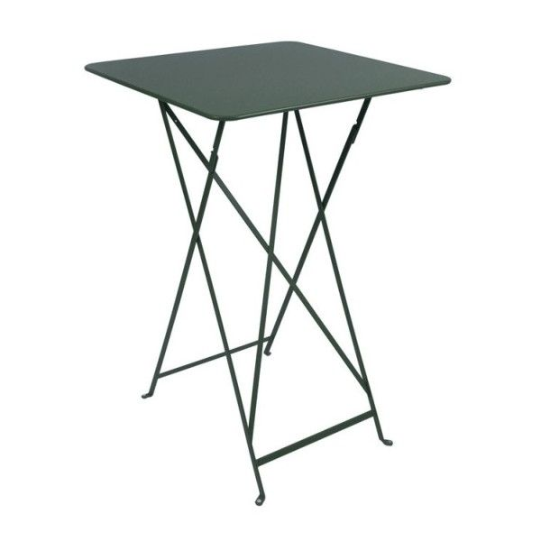 Fermob Bistro High Table 71 x 71cm in Cedar Green