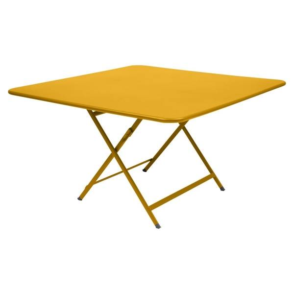 Fermob Caractère Table 128 x 128cm in Honey