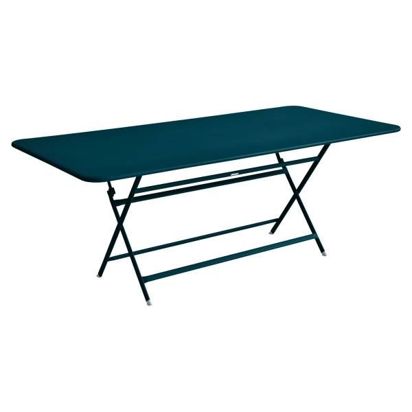 Fermob Caractère Table 190 x 90cm in Acapulco Blue