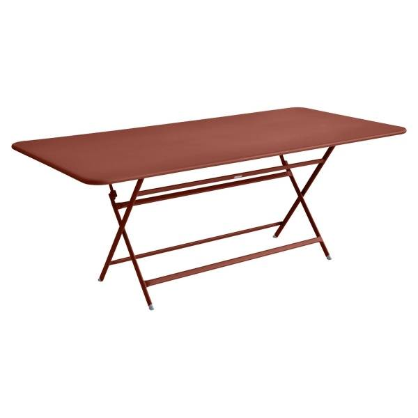 Fermob Caractère Table 190 x 90cm in Red Ochre