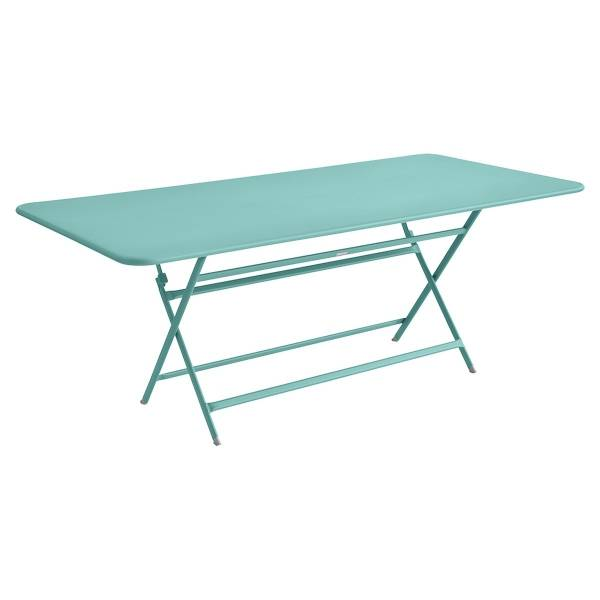 Fermob Caractère Table 190 x 90cm in Lagoon Blue