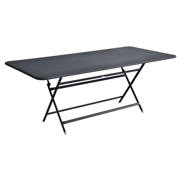 Fermob Caractère Table 190 x 90cm in Anthracite