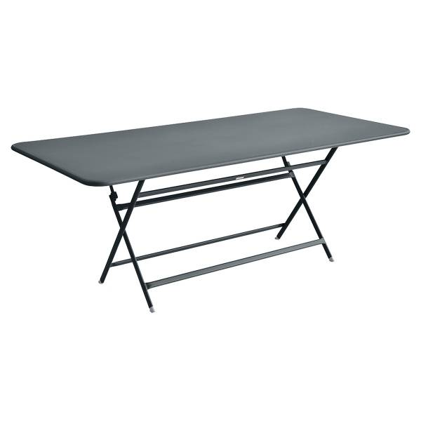 Fermob Caractère Table 190 x 90cm in Storm Grey
