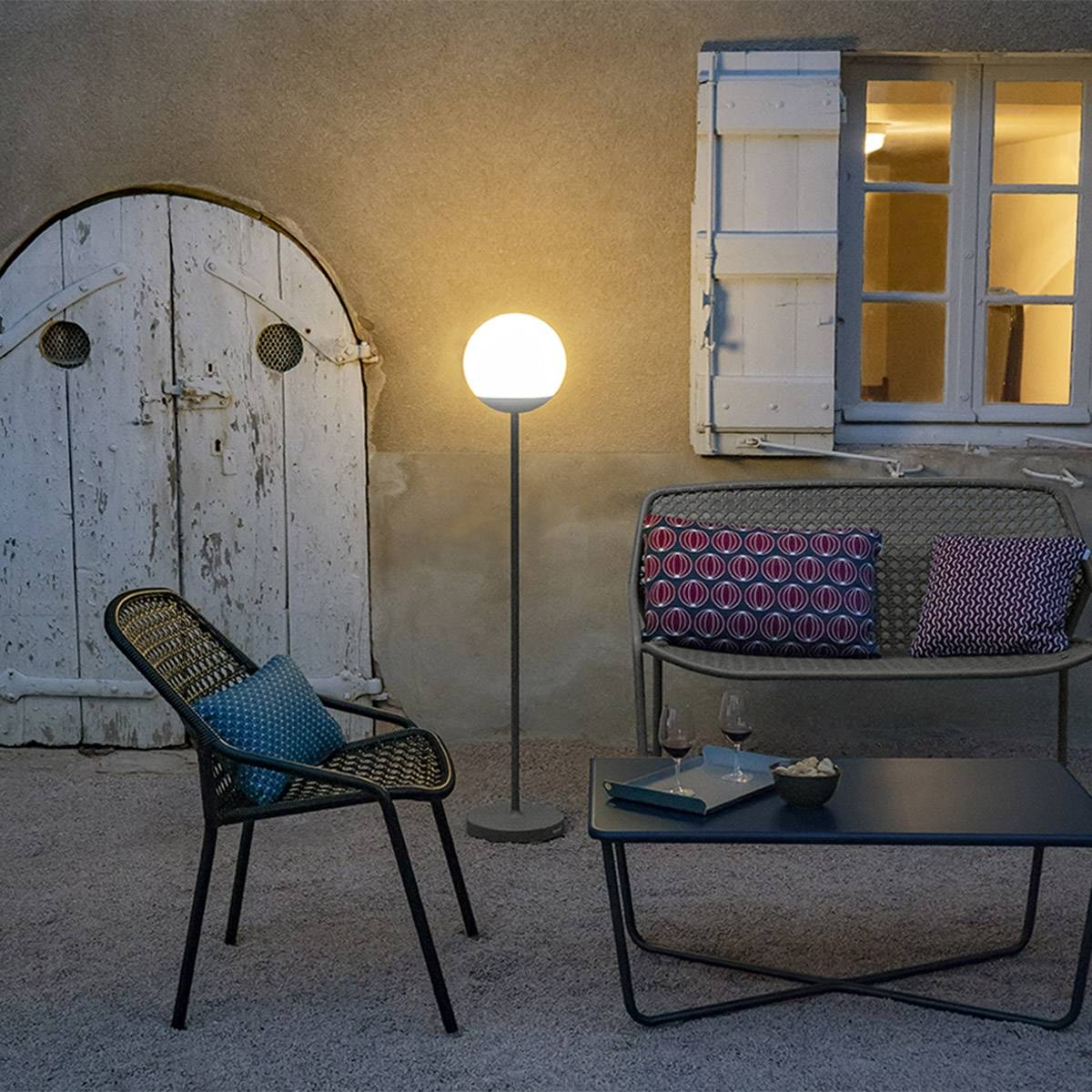 Fermob Mooon Floor Lamp 134 Cm Outdoor Lighting Jardin Nz