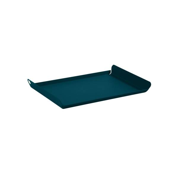 Fermob Alto Tray Small in Acapulco Blue