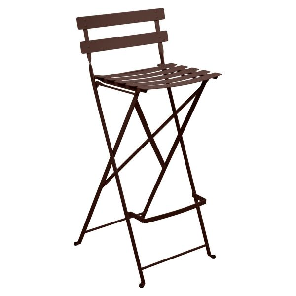 Fermob Bistro High Stool in Russet