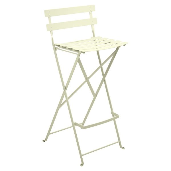 Fermob Bistro High Stool in Willow Green