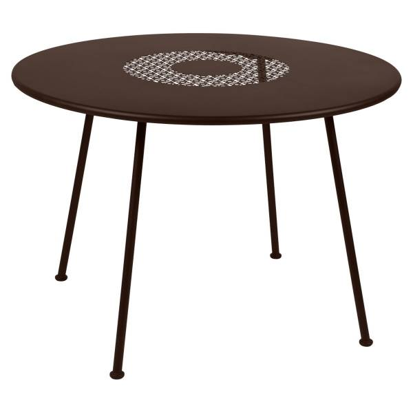 Fermob Lorette Table Round 110cm in Russet