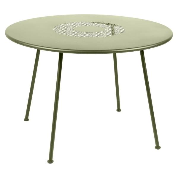Fermob Lorette Table Round 110cm in Willow Green