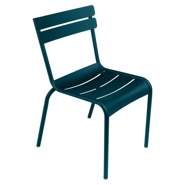 Fermob Luxembourg Chair in Acapulco Blue