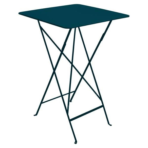 Fermob Bistro High Table 71 x 71cm in Acapulco Blue