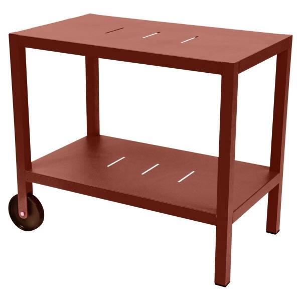 Fermob Quiberon Side Bar in Red Ochre