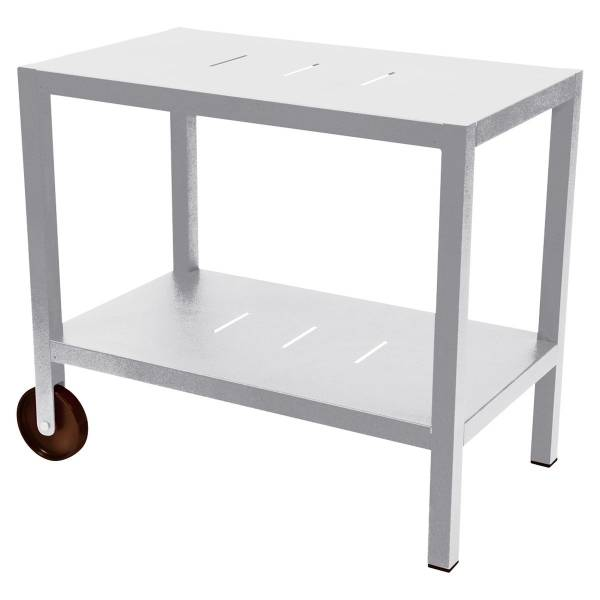 Fermob Quiberon Side Bar in Cotton White
