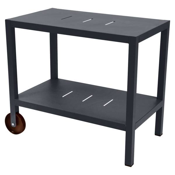 Fermob Quiberon Side Bar in Anthracite