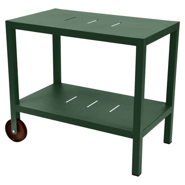 Fermob Quiberon Side Bar in Cedar Green