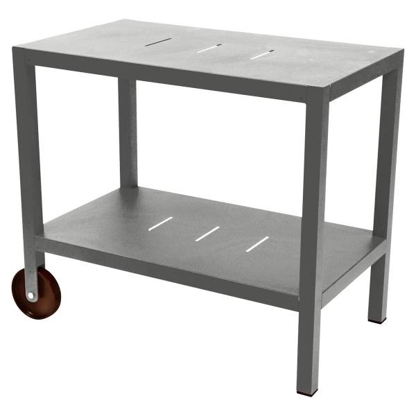 Fermob Quiberon Side Bar in Steel Grey