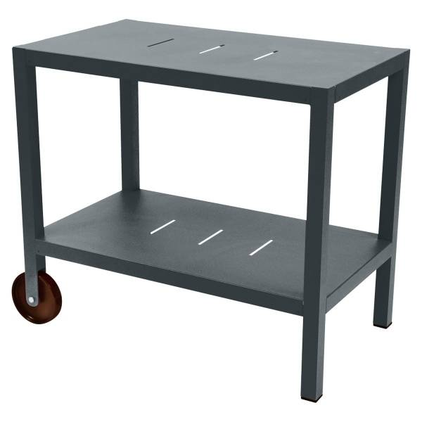 Fermob Quiberon Side Bar in Storm Grey