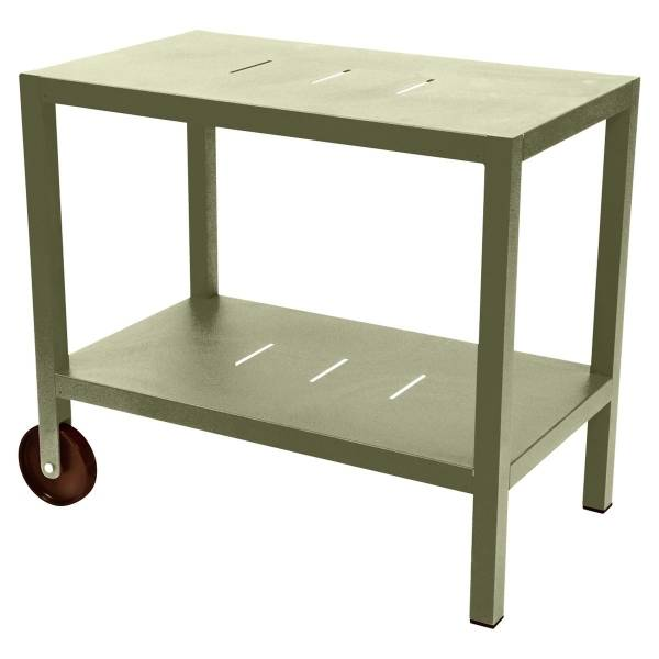 Fermob Quiberon Side Bar in Willow Green