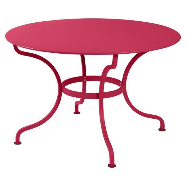 Fermob Romane Table Round  137cm in Pink Praline