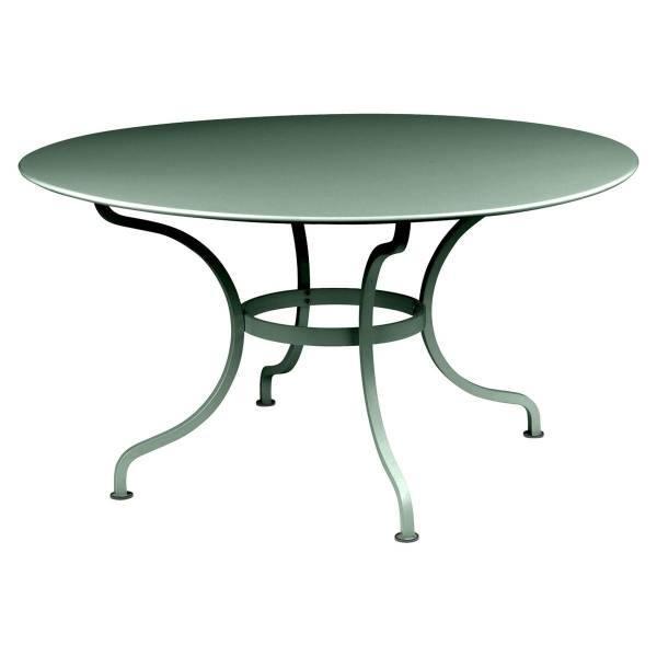 Fermob Romane Table Round  137cm in Cedar Green