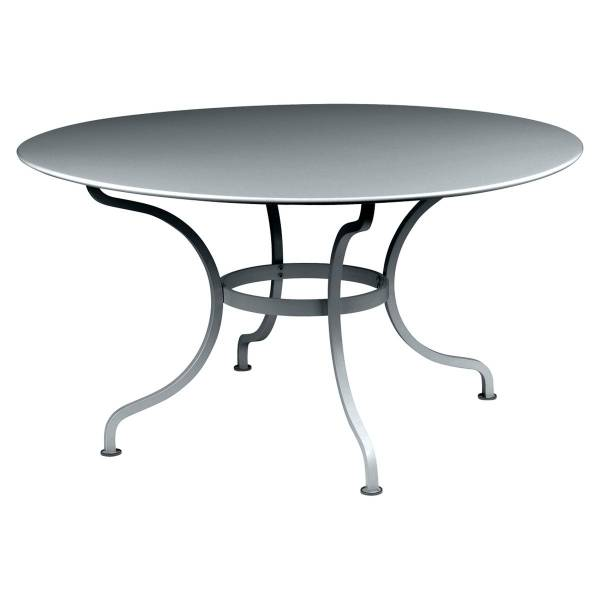 Fermob Romane Table Round  137cm in Storm Grey