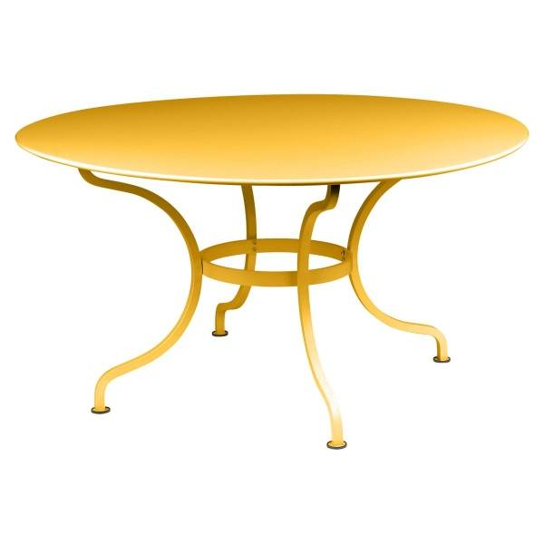 Fermob Romane Table Round  137cm in Honey